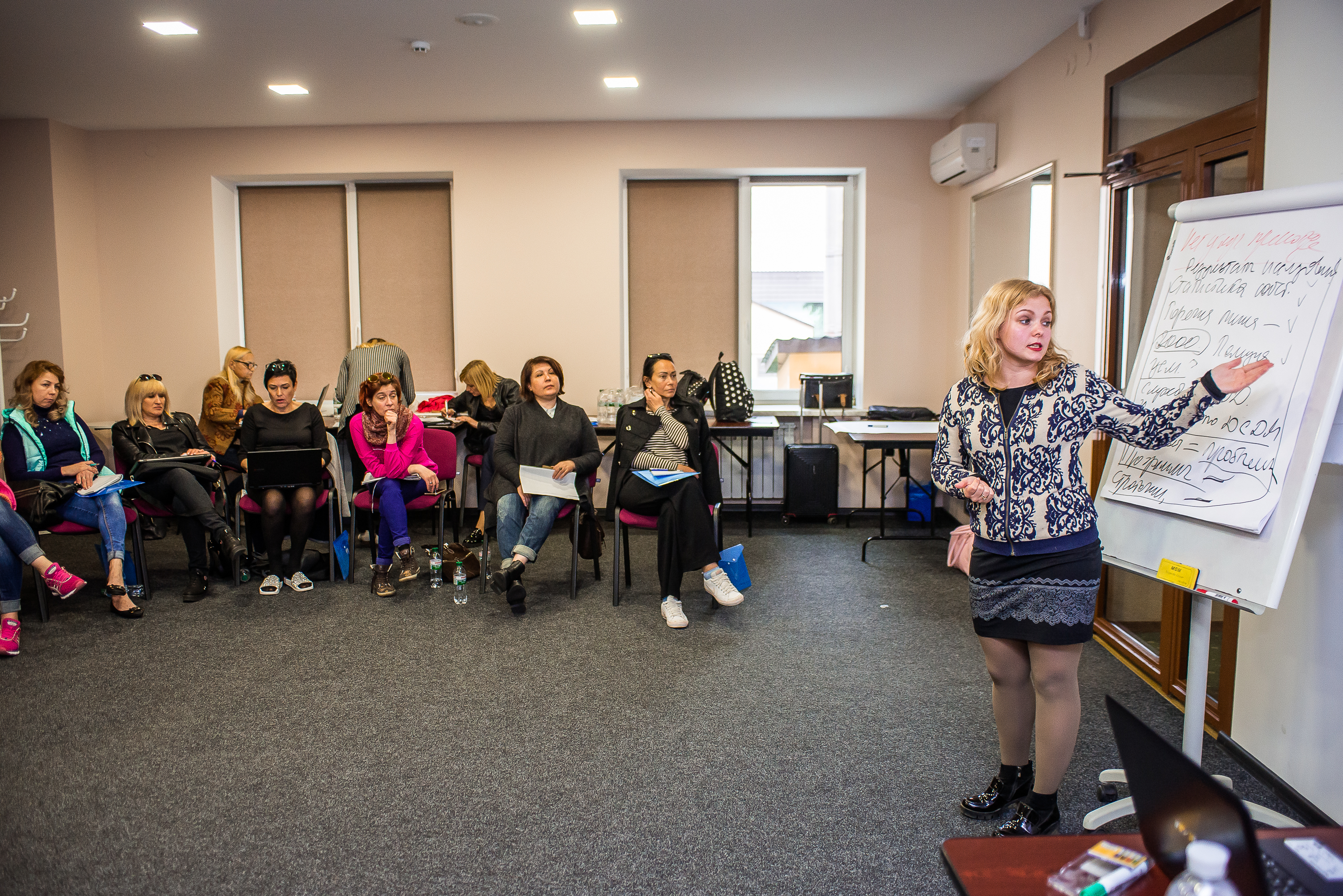"Budget Advocacy School was held in Poltava for CO ""Positive Women"""
