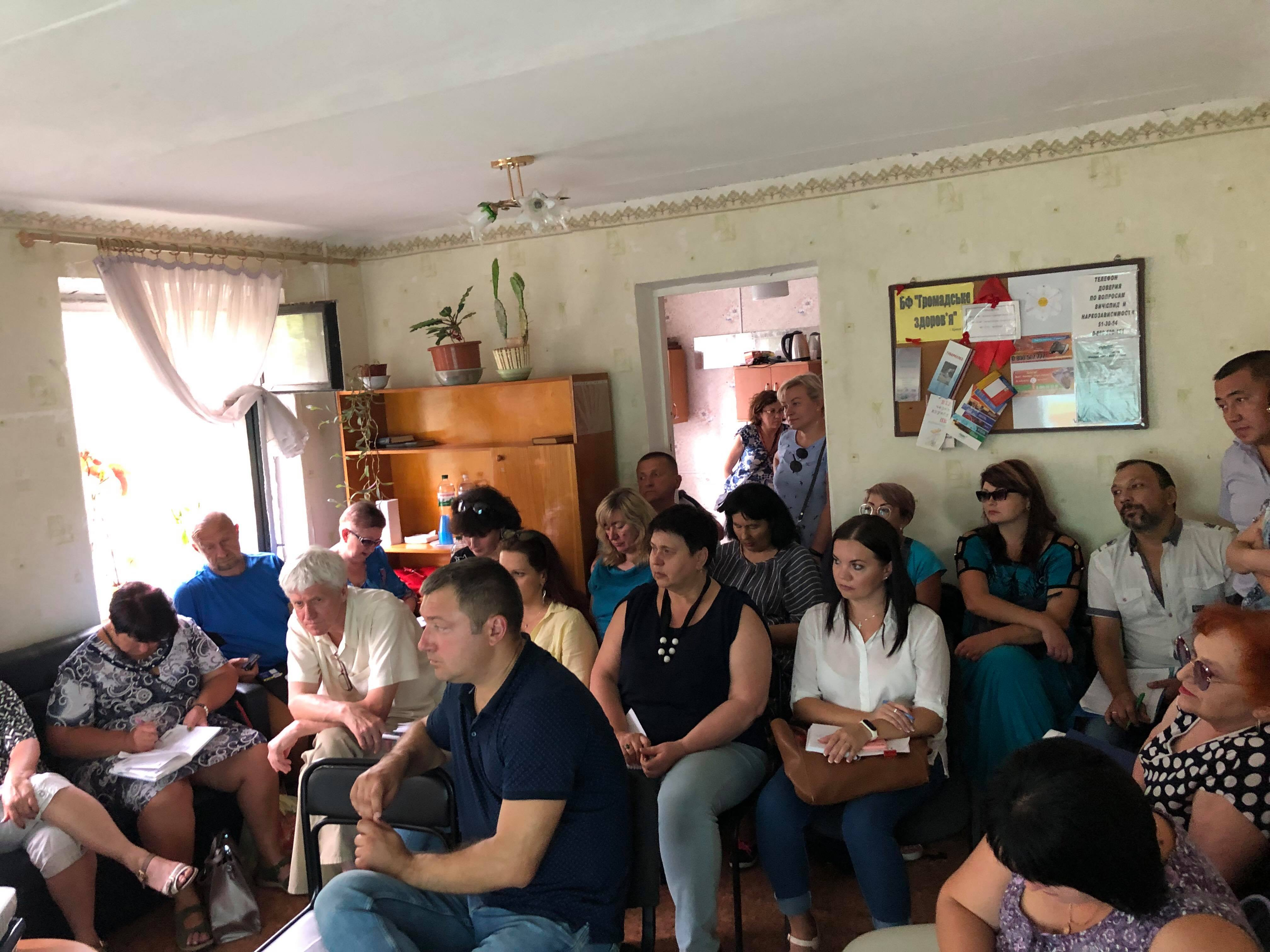 Technical support visit took place in Dnipropetrovsk region